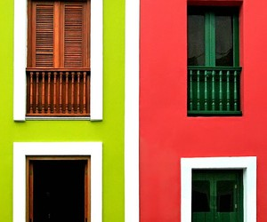 colors, house, and green image