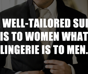 Hot, lingerie, and suit image