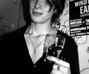 black and white, paolo nutini, and rock image