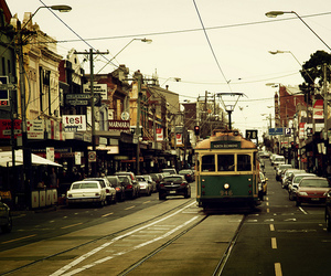 melbourne and tram image