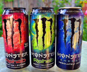 monster, drink, and photography image
