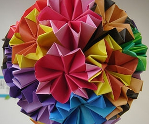 origami and colors image