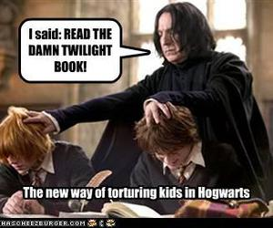 funny, torture, and twilight sucks image