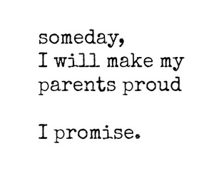 parents, quote, and promise image