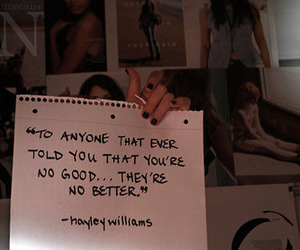 hayley williams, quote, and text image