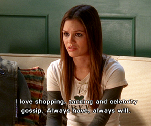 rachel bilson, the oc, and shopping image