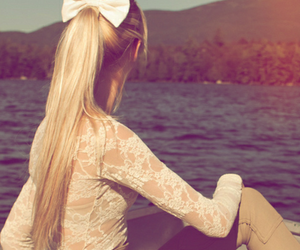 beauty, blond, and girl image