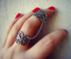 ring, nails, and accessories image