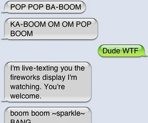 funny, fireworks, and text image