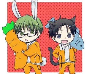 anime, bunny, and takao image