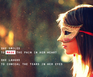 colorful, girl, and quote image
