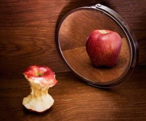 apple, anorexia, and mirror image