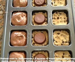 brownie, food, and chocolate image