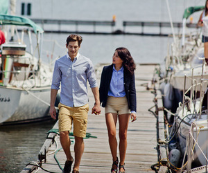 couple, luxe, and sea image