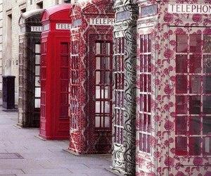 telephone, london, and england image