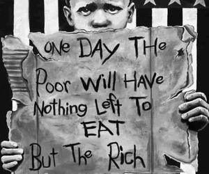 poor, rich, and boy image