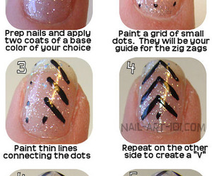 nails, tutorial, and art image