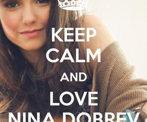 Nina Dobrev, love, and tvd image