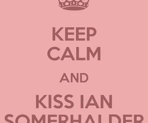 ian somerhalder, keep calm, and salvatore image