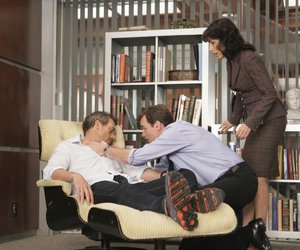 house md, hugh laurie, and Robert Sean Leonard image