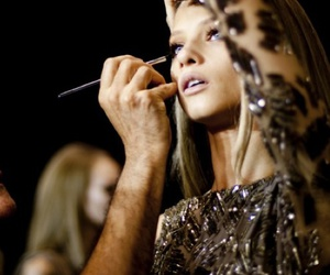 model, fashion, and make up image