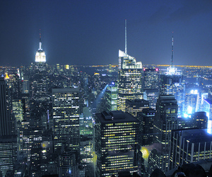 big apple, empire state building, and empire state image