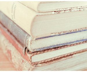 book, pastel, and vintage image