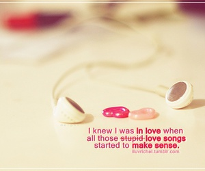 love, song, and music image