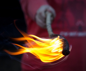 fire and photography image