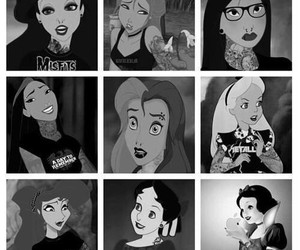 princess, disney, and punk image