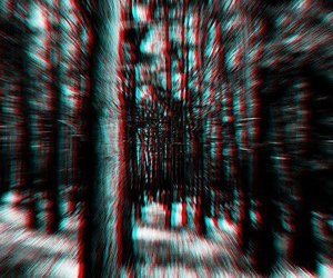 3d, b&w, and blue image