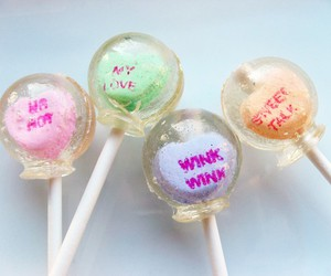 candy, cute, and lollipop image