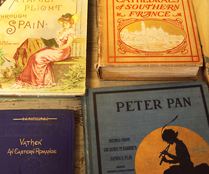 books, peter pan, and photo image