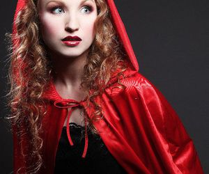 little red riding hood and red cape image