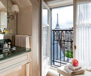 paris, france, and window image