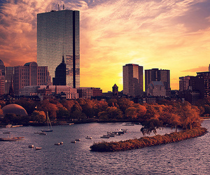 city, boston, and photography image
