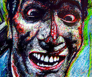Army of Darkness, art, and blood image