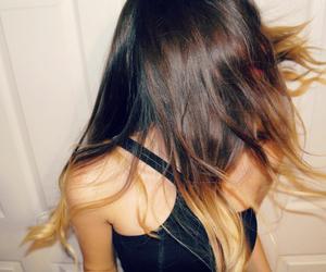 beautiful hair, movement, and pretty hair image
