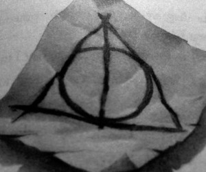 chapter, deathly hallows, and harry potter image