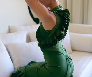 beautiful, green, and style image
