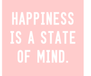 quote, happiness, and pink image