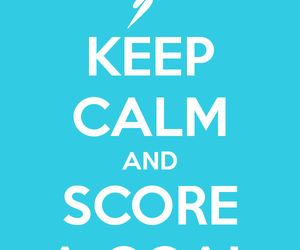 and, calm, and goal image