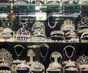 crown, diamond, and silver image
