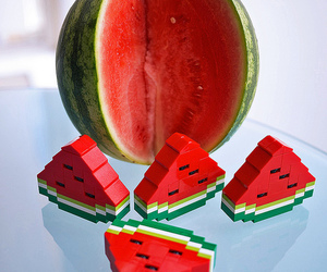 lego and watermelon image
