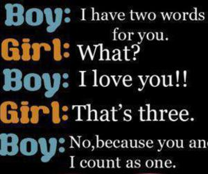 girl, text, and 3 words image