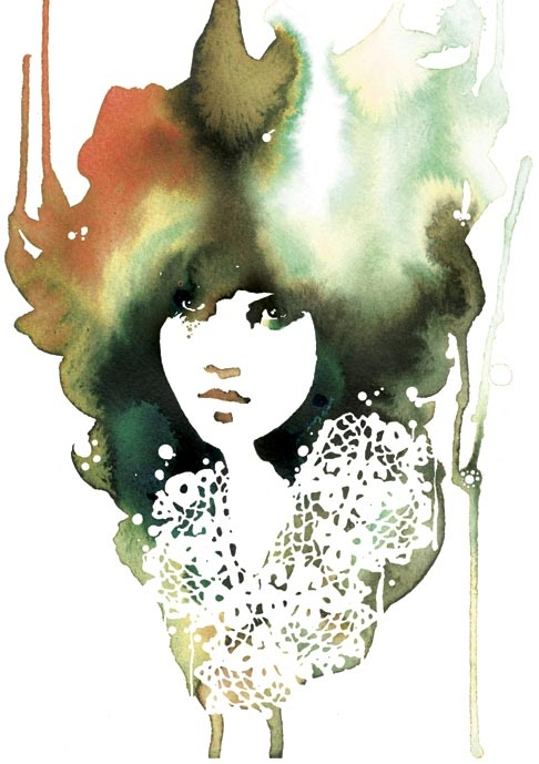 stina persson, watercolor, and art image