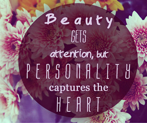 attention, beauty, and heart image