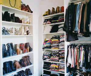awsome, closet, and fashion image