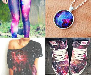 fashion, shirt, and space image