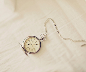 time, clock, and vintage image